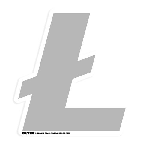 LITECOIN LTC Die-Cut Sticker