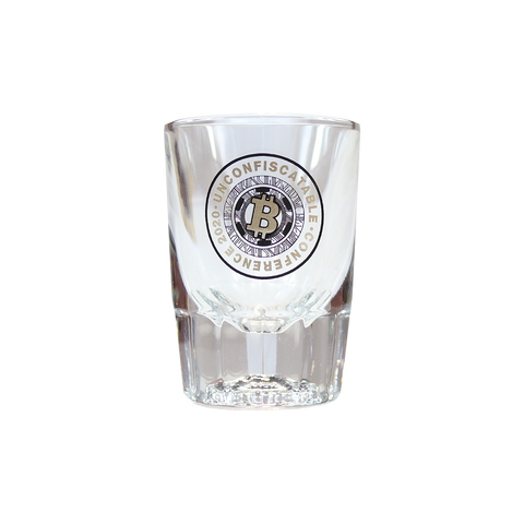 Unconfiscatable Conference 2020 Whiskey Shot Glass
