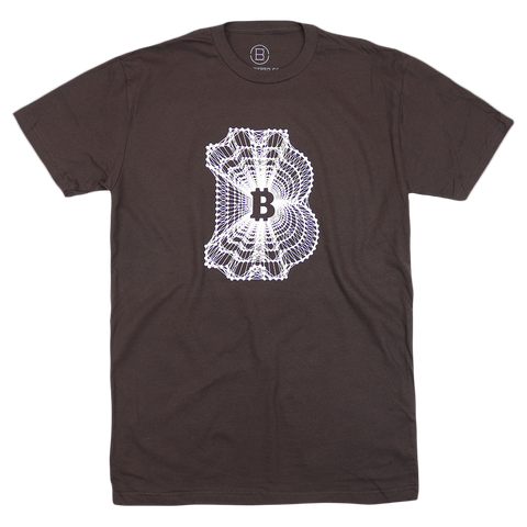 Blockchain Brown T-Shirt