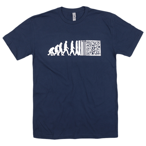 Evolution Navy T-Shirt