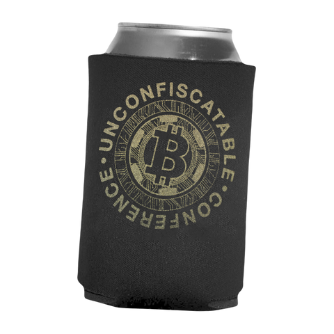 Unconfiscatable Conference Black Koozie