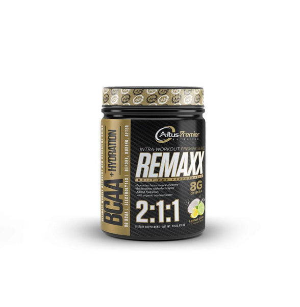 Build and preserve muscle with 7 GRAMS of hypercritical BCAAs — in the nature-designed and widely-researched 2:1:1 ratio — along with Glutamine and Citrulline Malate. Plus, with a proprietary blend of hydration-promoting electrolytes, REMAXX is the delicious, refreshing, SUGAR-FREE way to help anyone grind through a grueling gym session.