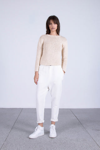 OSKAR double layered woven knit set