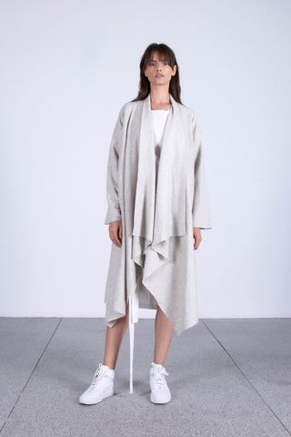 OSKAR grey waterfall jacket
