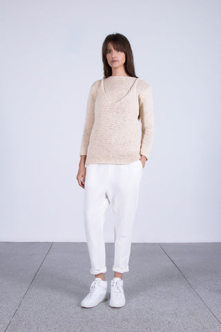 OSKAR double layered knit set