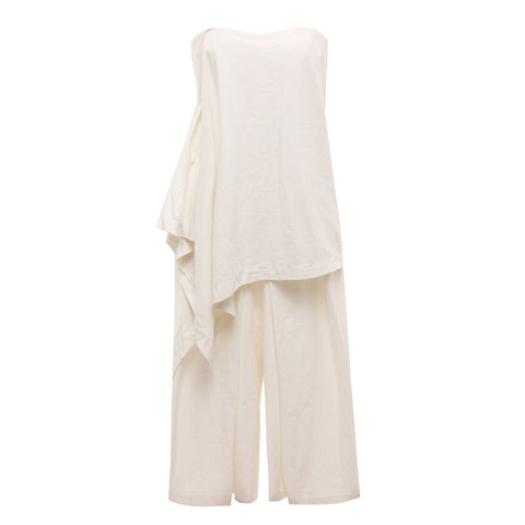 10 Spring Australian Fashion Styles That Embody Playful Minimalism - OSKAR layered cotton boobtube playsuit
