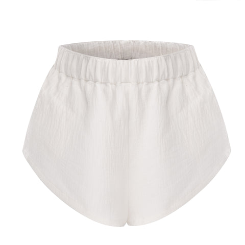 OSKER Australian Fashion Styling Tip - White linen shorts