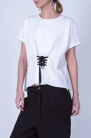 10 Spring Australian Fashion Styles That Embody Playful Minimalism - OSKAR corset tee