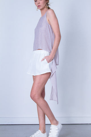 10 Spring Australian Fashion Styles That Embody Playful Minimalism - oskar drape layer chiffon top