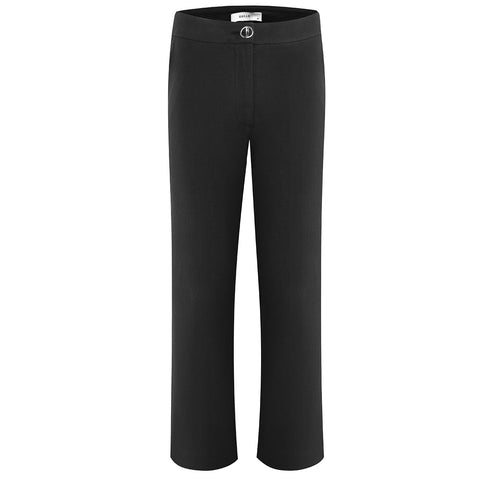 The Australian Fashion Online Lookbook Guide To The Ultimate Black Minimal Outfit - OSKAR black split pants