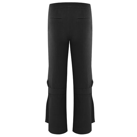 The Australian Fashion Online Lookbook Guide To The Ultimate Black Minimal Outfit - OSKAR Black split trousers
