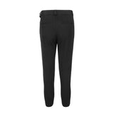 Pursuing Purpose High-waisted Belted Trousers in Black
