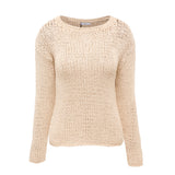 Love Alone Woven Knit Set in Nude