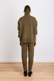 Sense Of Home Knit Track Pants in Khaki