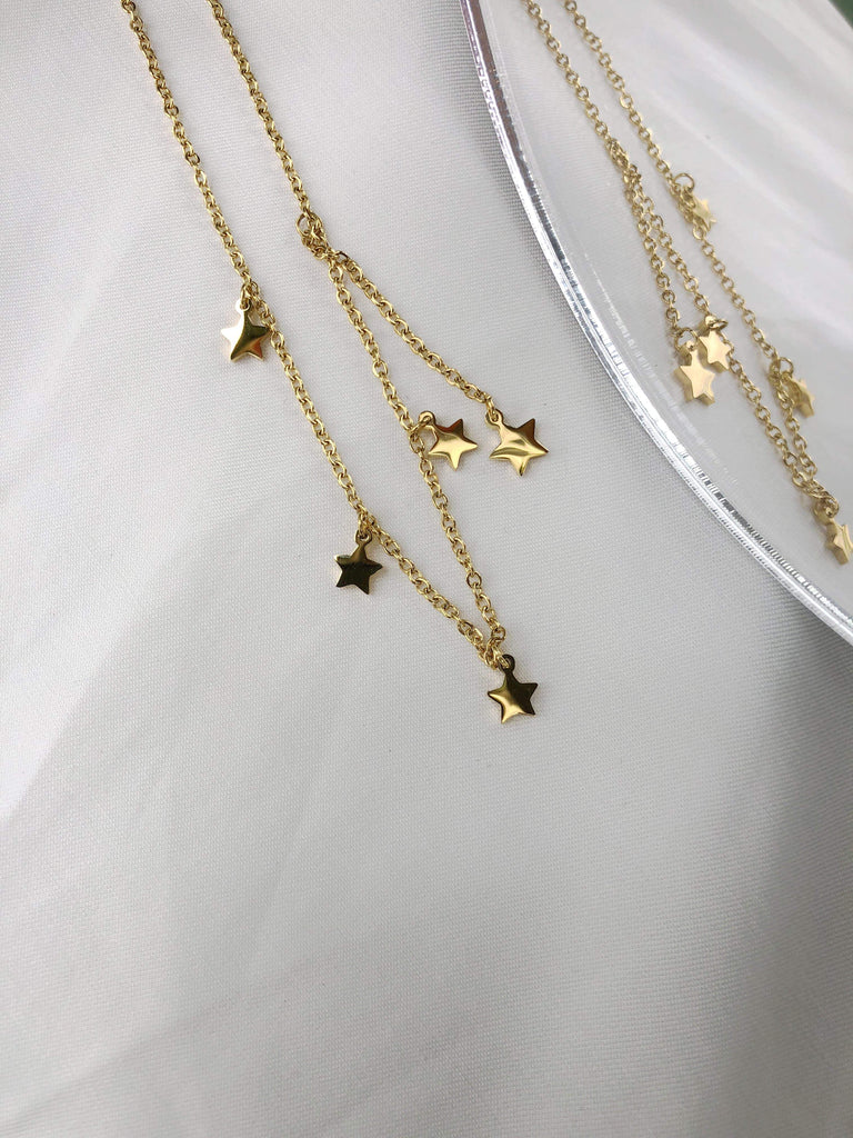Seaside Star Charms Necklace