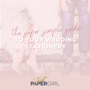 Your Super Simple Wedding Stationery Timeline
