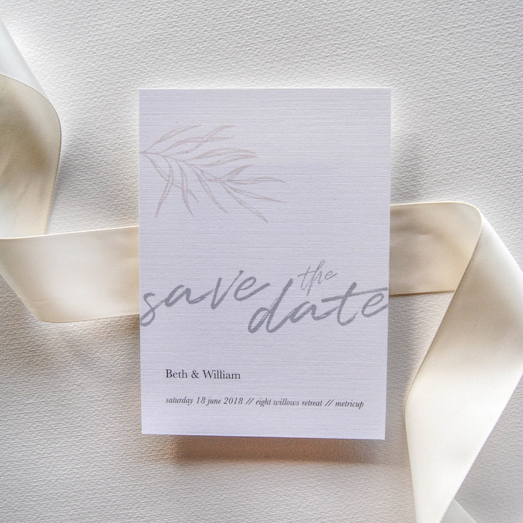 Bloom On Babe Save The Date - That Paper Girl