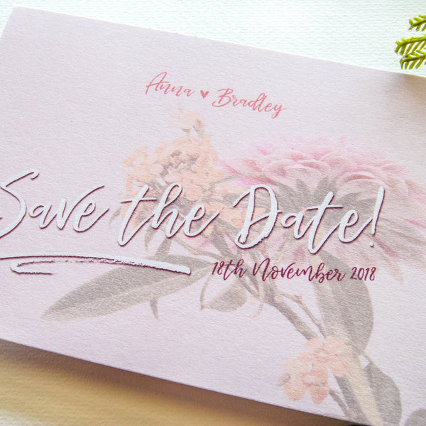 High Tides Save The Date - That Paper Girl