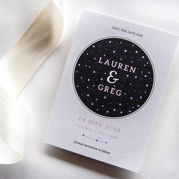Moon Magic Save The Date - That Paper Girl