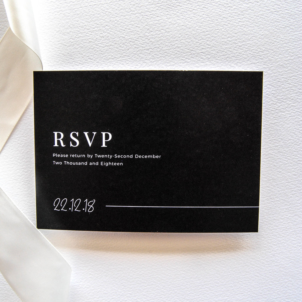 The New Black RSVP - That Paper Girl