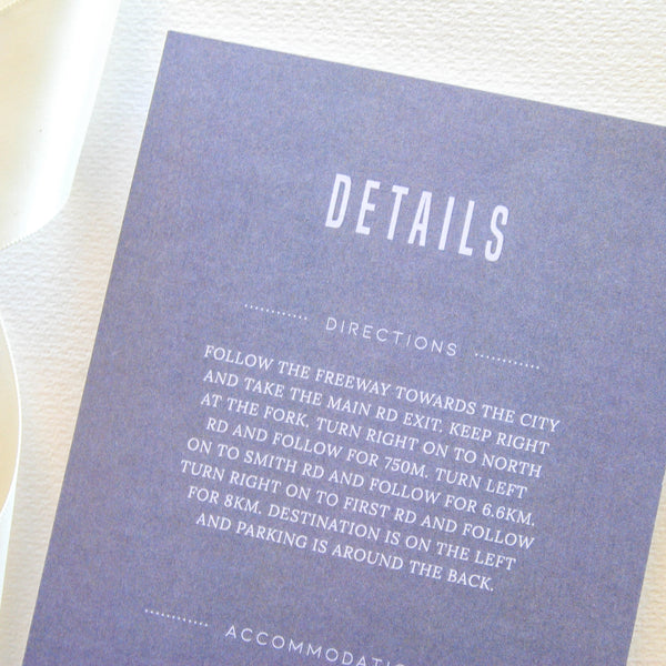 Slow Mornings Details Card - That Paper Girl
