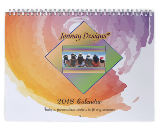 Watercolors Wall Calendar-Calendar-Jonnay Designs, LLC-Jonnay Designs™