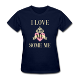 Love Me Some Me Women's T-Shirt - navy