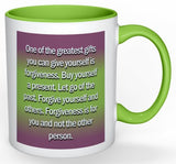 Buy Yourself A Present Coffee Mug - 11 oz-Coffee Mug-Jonnay Designs, LLC-Jonnay Designs™