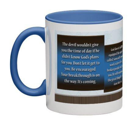 Be Encouraged Coffee Mug - 11 oz-Coffee Mug-Jonnay Designs® LLC-Jonnay Designs™