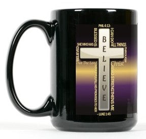 Blessed Is She Mug 15 oz
