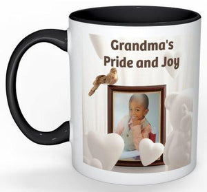 Grandma's Pride and Joy Coffee Mug - 11 oz-Coffee Mug-Jonnay Designs, LLC-Jonnay Designs™