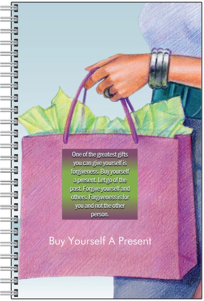 Buy Yourself A Present Notebook-Notebook-Jonnay Designs, LLC-Jonnay Designs™