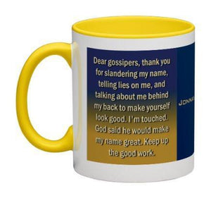 Dear Gossipers Coffee Mug - 11 oz-Coffee Mug-Jonnay Designs, LLC-Jonnay Designs™