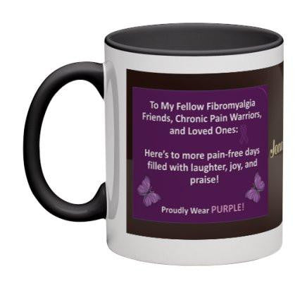 Fibromyalgia Friends Coffee Mug - 11 oz-Coffee Mug-Jonnay Designs, LLC-Jonnay Designs™