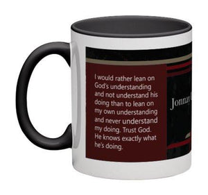 Lean On God's Understanding Coffee Mug - 11 oz-Coffee Mug-Jonnay Designs, LLC-Jonnay Designs™
