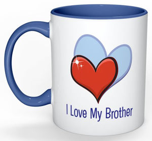 Love My Brother Coffee Mug - 11 oz-Coffee Mug-Jonnay Designs LLC-Jonnay Designs™