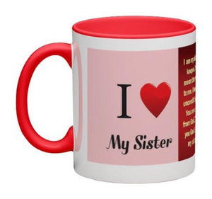 Love My Sister Coffee Mug - 11 oz-Coffee Mug-Jonnay Designs, LLC-Jonnay Designs™