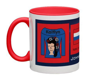 Navy Blue Women Heritage Cup© - 11 oz-Heritage Cups©-Jonnay Designs, LLC-Jonnay Designs™
