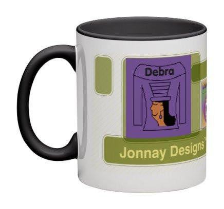 Purple Women Heritage Cup© - 11 oz-Heritage Cups©-Jonnay Designs, LLC-Jonnay Designs™