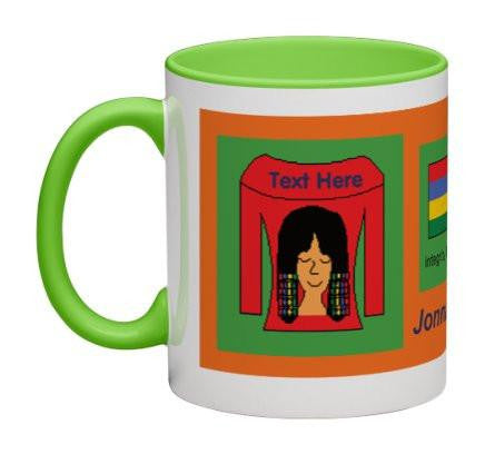 Orange Women Heritage Cup© - 11 oz-Heritage Cups©-Jonnay Designs, LLC-Jonnay Designs™