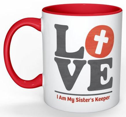 Sister's Keeper Coffee Mug - 11 oz-Coffee Mug-Jonnay Designs, LLC-Jonnay Designs™