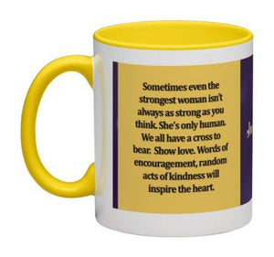 The Strongest Woman Coffee Mug - 11 oz-Coffee Mug-Jonnay Designs, LLC-Jonnay Designs™
