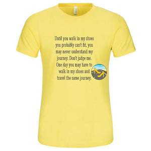 Walk In My Shoes T-Shirt-T-Shirt-Jonnay Designs, LLC-Jonnay Designs™
