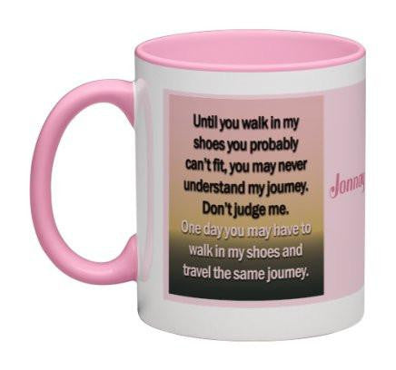 Walk In My Shoes Coffee Mug - 11 oz-Coffee Mug-Jonnay Designs, LLC-Jonnay Designs™