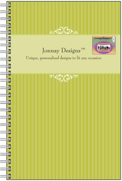 Yellow Green Notebook-Notebook-Jonnay Designs, LLC-Jonnay Designs™