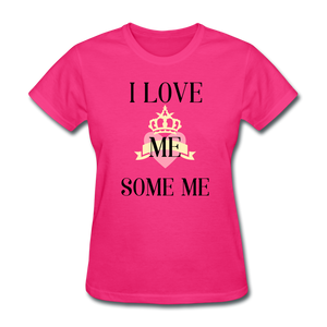 love Me Some Me Women's T-Shirt - fuchsia