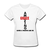 Amazing Grace Women's T-Shirt - white