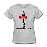 Amazing Grace Women's T-Shirt - heather gray