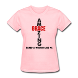 Amazing Grace Women's T-Shirt - pink