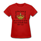 Found HER Voice Women's T-Shirt - red